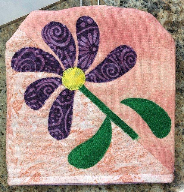 SWAT-MAYPAT Keama's Fly Swatter Cover Pattern Flowers