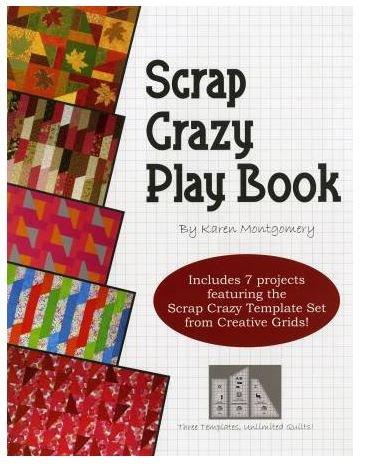 TQC-104 Quilt Company,Scrap crazy Play Book