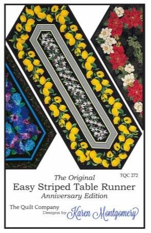 TQC272 The Quilt Company, Easy Striped Table Runner