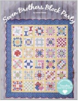 TS7BROS, Ten Sisters, Seven Brothers Block Party by Carmen Geddes