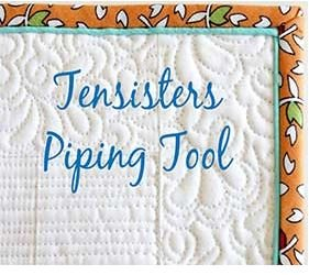 TSPIPETOOL, Ten Sisters, Piping Tool Ruler