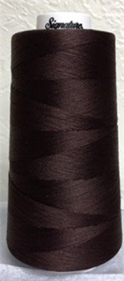 47-125 Signature 100% Cotton Cone Thread 3000 yds Walnut