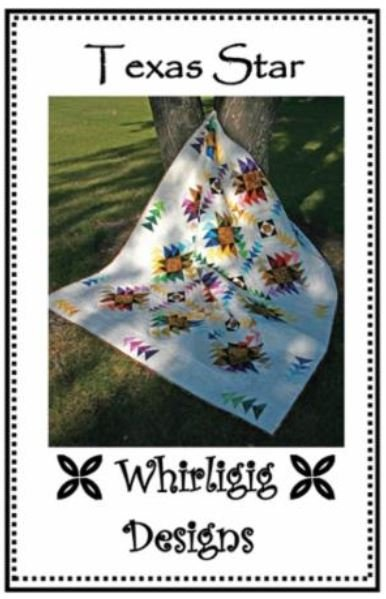 WD-TS Whirligig Designs Texas Star Multi Size Pattern