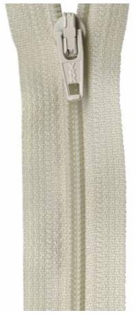 ZIP09-BG, YKK, Non-Seperating Zipper, 9 inch Beige