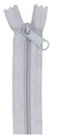 ZIP24-110 By Annie Handbag Zipper 24 inch Single Slide Pewter