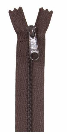 ZIP24-145 By Annie Handbag Zipper 24 Sable Brown