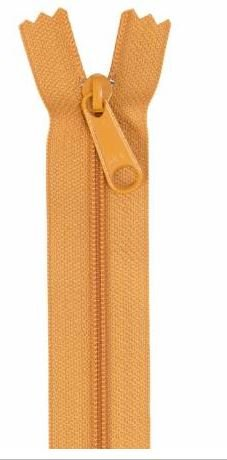 ZIP24-180 By Annie Handbag Zipper 24 inch Single Slide Gold