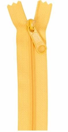ZIP24-190 By Annie Handbag Zipper 24 inch Single Slide Buttercup