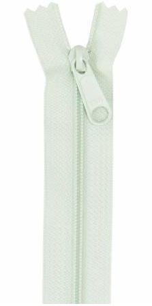 ZIP24-201 By Annie Handbag Zipper 24 Light Mint