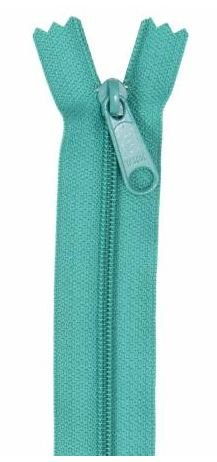 ZIP24-204 By Annie Handbag Zipper Single Slide 24 inch Emerald Green