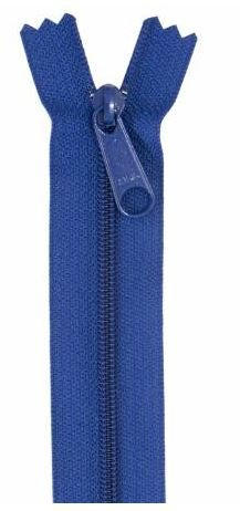 ZIP24-225 By Annie Handbag Zipper Single Slide 24 inch Cobalt