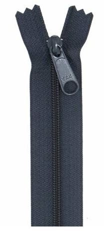 ZIP24-235 By Annie Handbag Zipper Single Slide 24 inch Navy Blue
