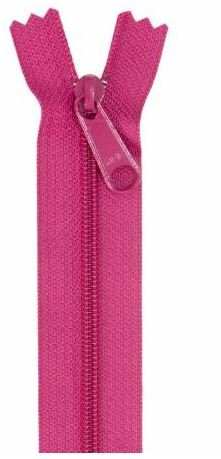 ZIP24-255 By Annie Handbag Zipper, Non-Separating, Single Slide, 24  inch Crazy Plum