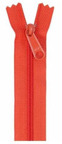 ZIP24-285 By Annie Handbag Zipper 24 Tangerine Orange