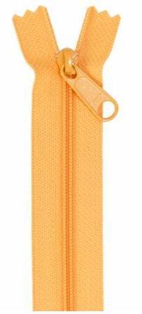 ZIP24-290 By Annie Handbag Zipper Single Slide 24 inch Papaya