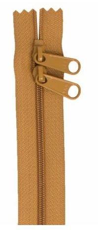 ZIP30-170 By Annie Double Slide Handbag Zipper 30 inch Golden