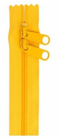 ZIP30-190 By Annie Double Slide Handbag Zipper 30 inch Buttercup
