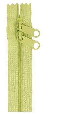 ZIP30-198 By Annie Double Slide Handbag Zipper 30 inch Chartreuse