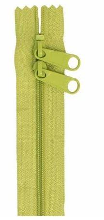 ZIP30-200 By Annie Double Slide Handbag Zipper 30 inch Green Apple