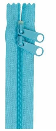 ZIP30-214 By Annie Double Slide Handbag Zipper 30 inch Parrot Blue