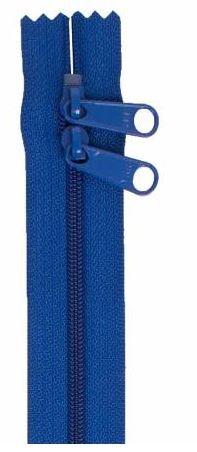 ZIP30-215 By Annie Double Slide Handbag Zipper 30 inch Blastoff Blue