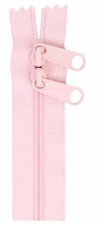 ZIP30-249 By Annie Double Slide Handbag Zipper 30 inch Pale Pink