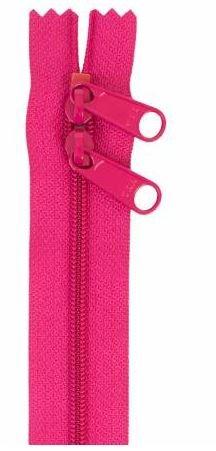 ZIP30-250 By Annie Double Slide Handbag Zipper 30 inch Lipstick