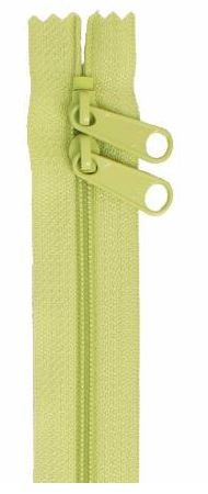 ZIP40-198 By Annie Handbag Zipper, Double Slide, 40 inch, Chartreuse