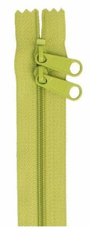 ZIP40-200 By Annie Handbag Zipper, Double Slide, 40 inch, Apple Green