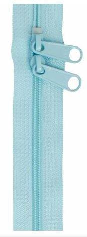 ZIP40-213 By Annie Handbag Zipper, Double Slide, 40 inch, Robin's Egg
