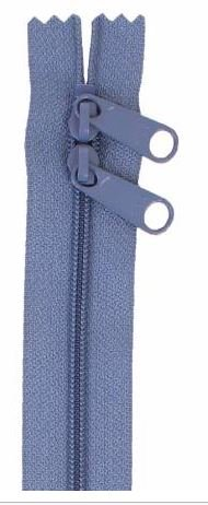 ZIP40-220 By Annie Handbag Zipper, Double Slide, 40 inch, Country Blue