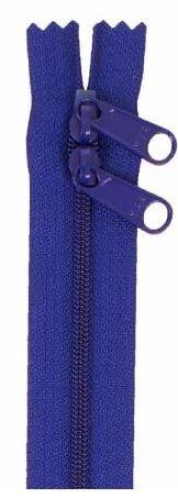 ZIP40-225 By Annie Handbag Zipper, Double Slide, 40 inch, Cobalt