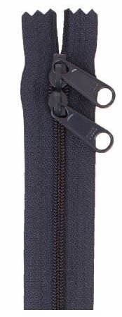 ZIP40-235 By Annie Handbag Zipper, Double Slide, 40 inch, Navy Blue