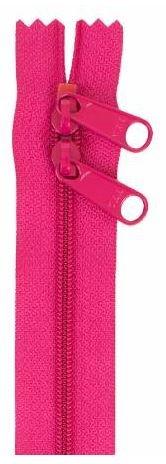 ZIP40-250 By Annie Handbag Zipper, Double Slide, 40 inch, Lipstick