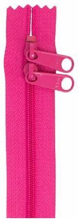 ZIP40-252 By Annie Handbag Zipper, Double Slide, 40 inch, Raspberry