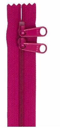 ZIP40-258 By Annie Handbag Zipper, Double Slide, 40 inch, Wild Plum