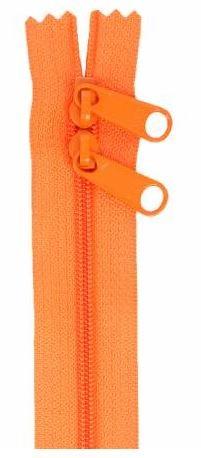 ZIP40-287 By Annie Handbag Zipper, Double Slide, 40 inch, Pumpkin