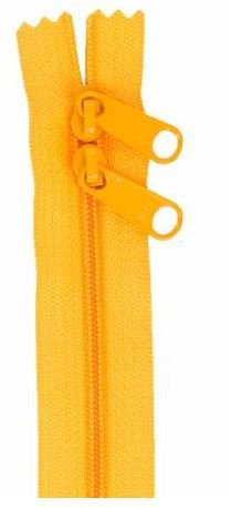 ZIP40-290 By Annie Handbag Zipper, Double Slide, 40 inch, Papaya