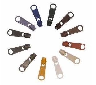 ZIPULL-NEU12 Zipper Pull Set - Neutrals - 12 #4.5