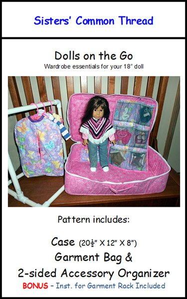 Dolls on the Go Pattern