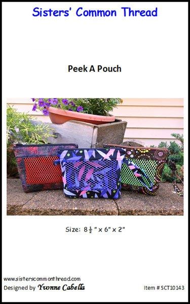 Peek a Pouch Pattern