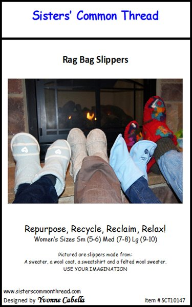 Rag Bag Slippers Pattern