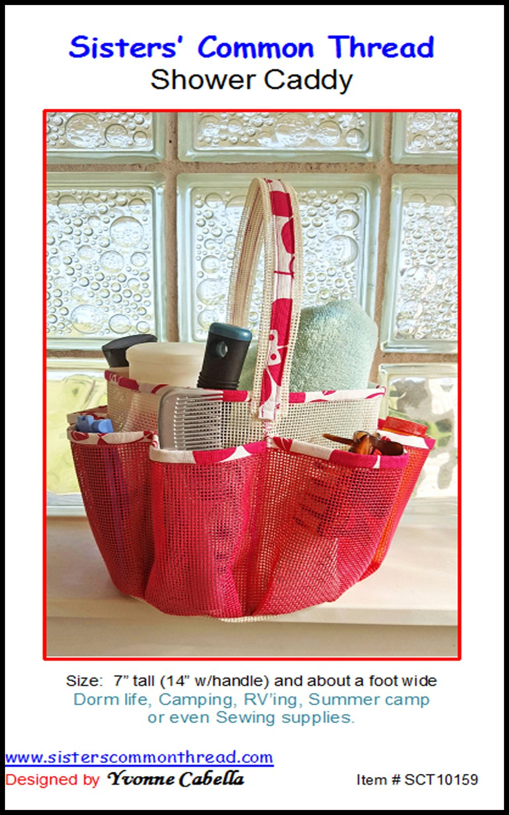 Shower Caddy Pattern