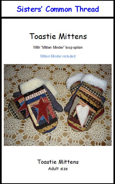 Toastie Mittens Pattern Plus