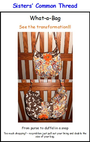 What-A-Bag Pattern