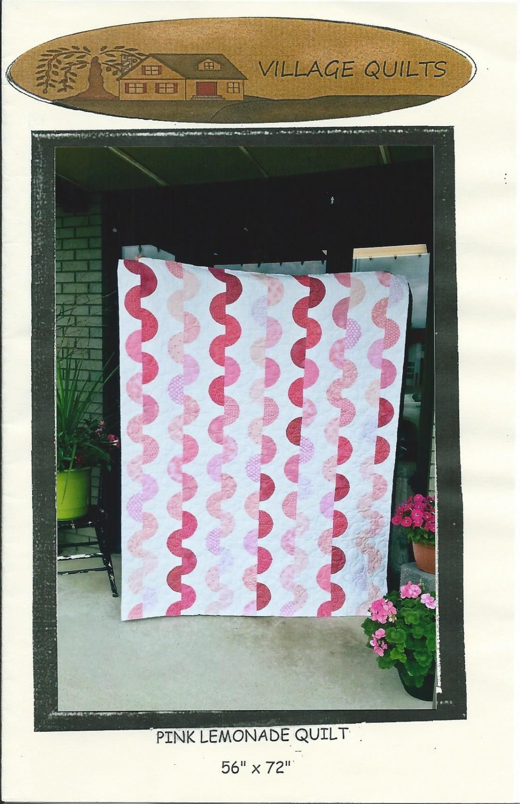 Pink Lemonade Quilt pattern