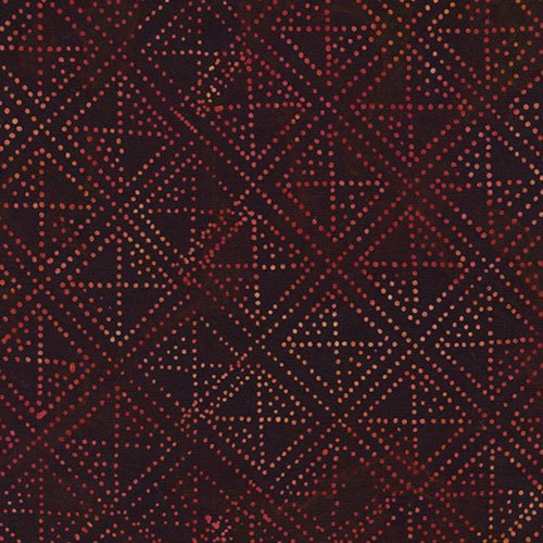 Batik Tonga B2267 Red Timeless Treasures `
