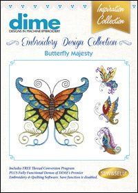 Machine Embroidery 08 Butterfly Majesty