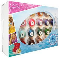 Disney Princess Embroidery Thread Kit ETPPRIN124 `