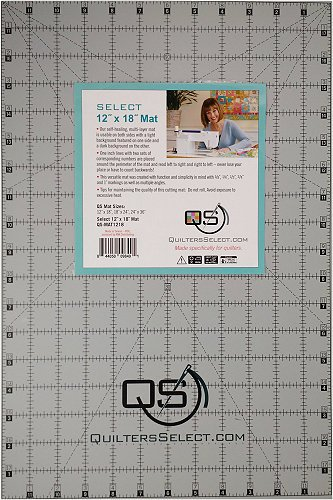 Quilters Select 12 x 18 cutting mat `